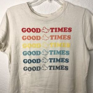 🌼 Junk Food Mickey Mouse Graphic T-shirt